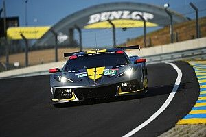 Corvette's Milner says Le Mans test didn't feel like C8.R debut
