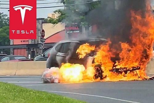 Tesla-tulajdonos mentette meg egy kigyulladó BMW vezetőjének életét
