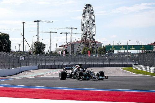 F1 Russian GP: Bottas heads Mercedes 1-2 in opening practice