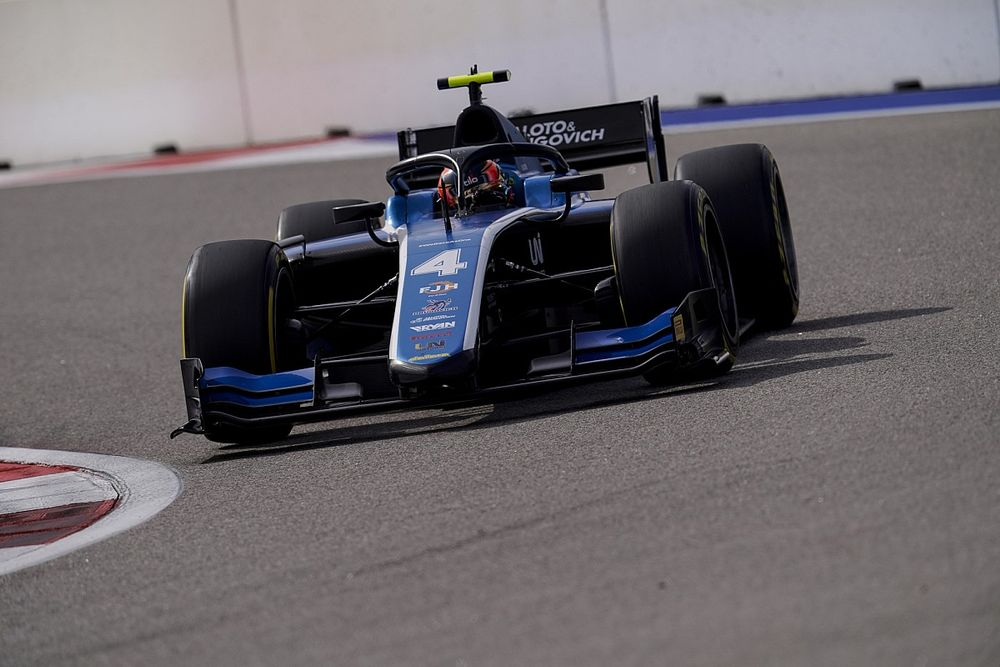 Drugovich receives all-clear as F2 crash prompts hospital visit