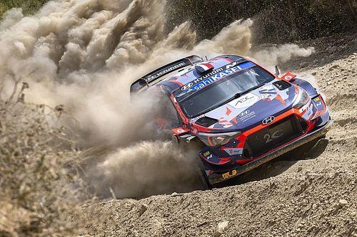 Loubet, kendisine araba çarptığı için WRC sezonunu kapattı