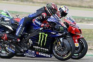 Resumen: la clasificación del Gran Premio de Aragón de MotoGP