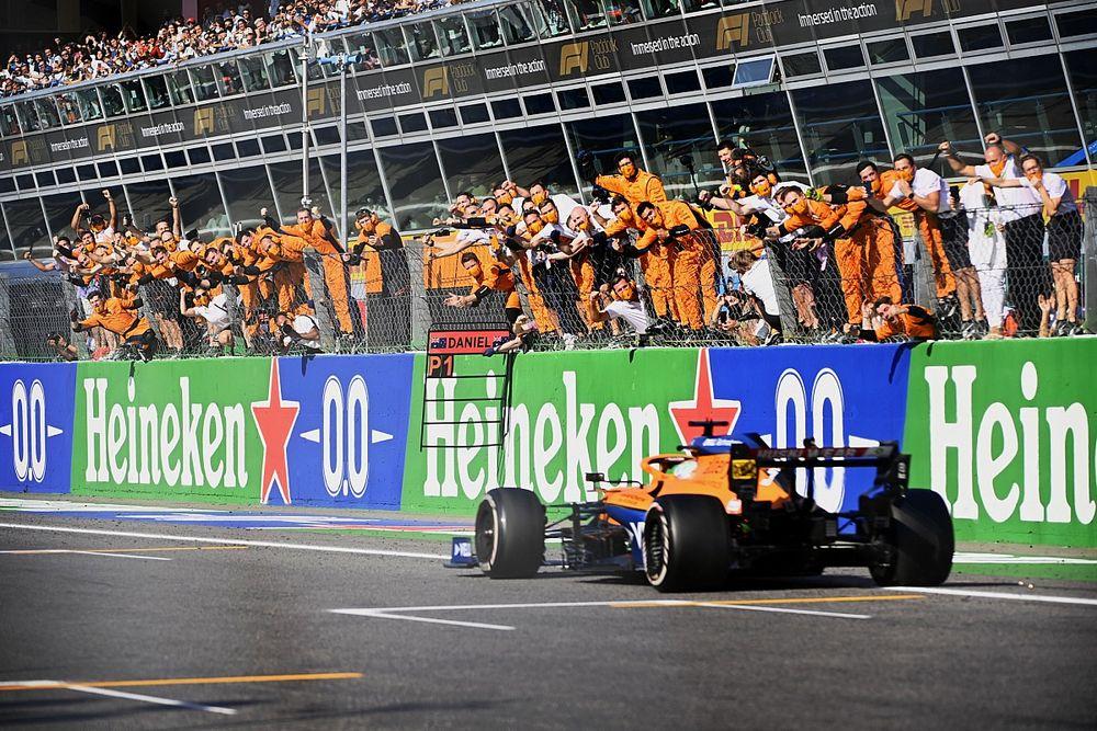 La victoria que logró dejar a Ricciardo sin palabras por primera vez