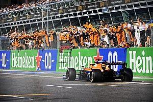 F1イタリア決勝:マクラーレンに勝利の女神微笑む! セナプロ再来か? ハミルトンとフェルスタッペンは交錯、角田は出走できず