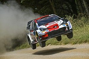 Estonia WRC: Rovanpera edges Breen to end Friday on top