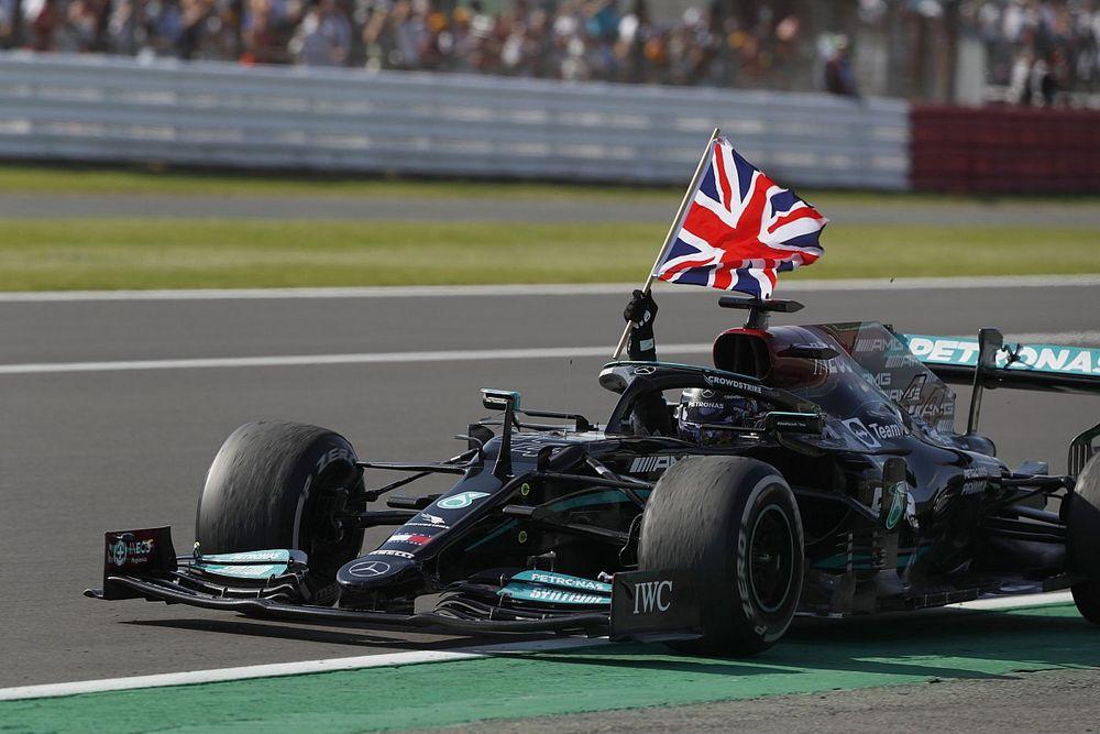 Statistieken Silverstone 2021 - Hamilton blijft winnen in eigen land