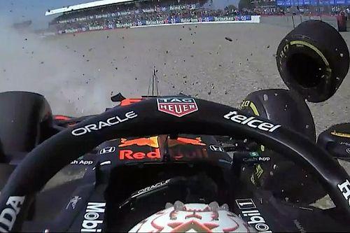 Vídeo: brutal accidente de Verstappen y Hamilton en Silverstone