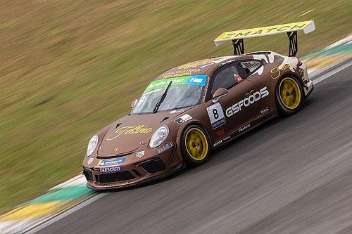 Porsche Carrera Cup: Neugebauer vence em Interlagos em prova acidentada