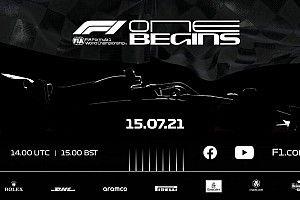 Fórmula 1 mostrará el coche 2022 en escala real previo a Inglaterra