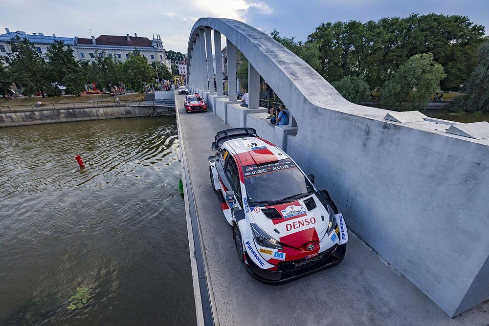 WRC, Rally Estonia, PS2-3: Tanak fora, Rovanpera in vetta