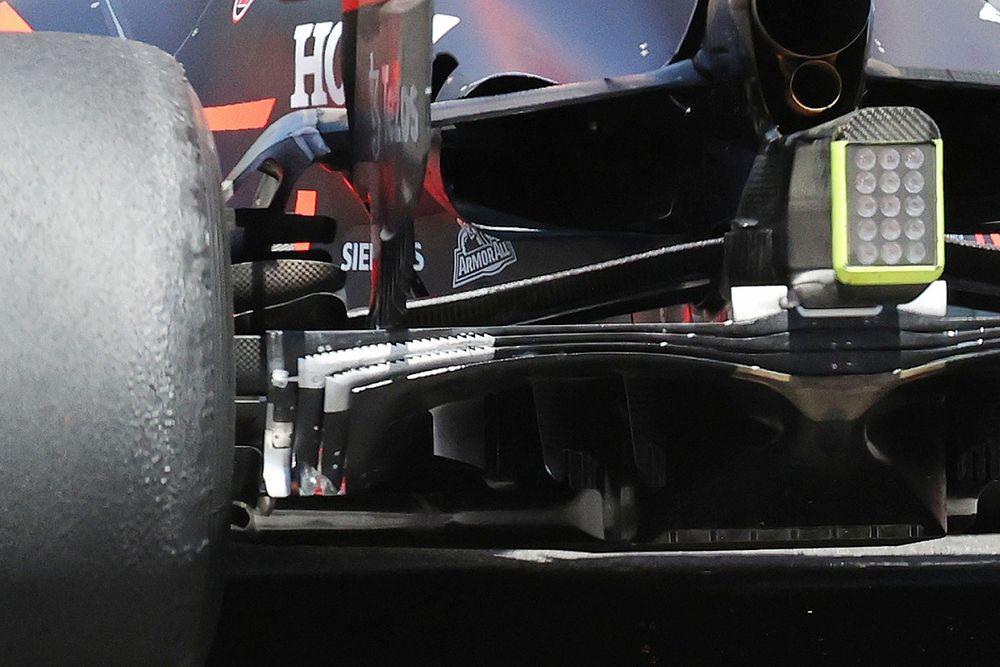 El cambio de Red Bull en su difusor para Mónaco 2021