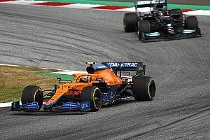 诺里斯回应汉密尔顿在奥地利大奖赛中的赞美