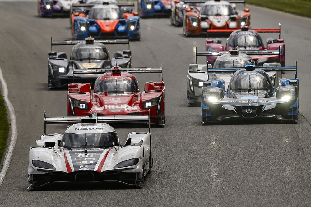 """IMSA Prototype """"three-horse race"""" enters final stages"""