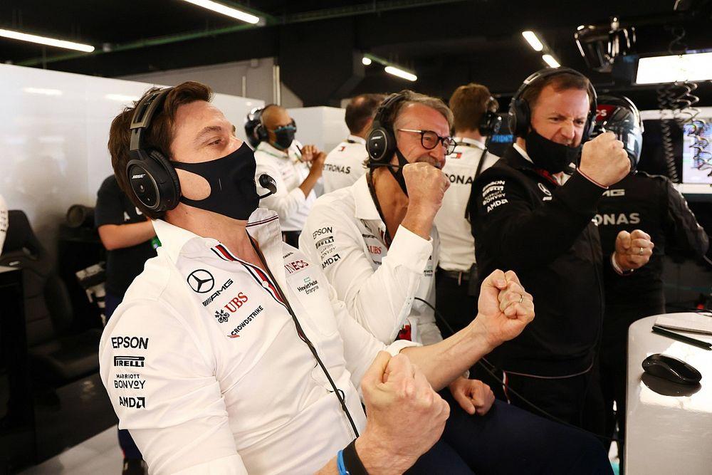 Quién durmió mejor anoche en F1: Toto Wolff