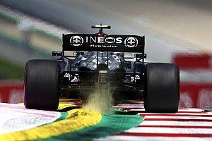 """Mercedes F1 mist topsnelheid: """"Andere achtervleugel is geen optie"""""""