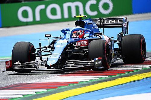 """F1 - Ocon: """"Pequenas mudanças no carro podem ter causado queda de rendimento"""""""