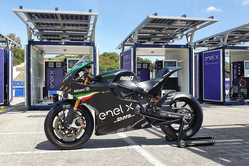 MotoE: Enel X com JuiceRoll Race Edition revoluciona o carregamento