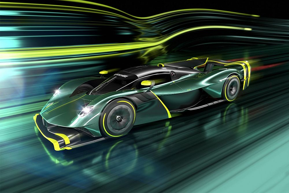 Aston Martin представила 1000-сильный гиперкар