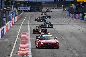 FIA explica la bandera roja y el reinicio del GP de Azerbaiyán
