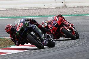 Quartararo can't explain MotoGP suit problem in Catalunya race