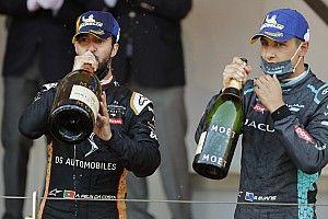 """Evans """"gutted"""" after last-lap Monaco Formula E defeat"""