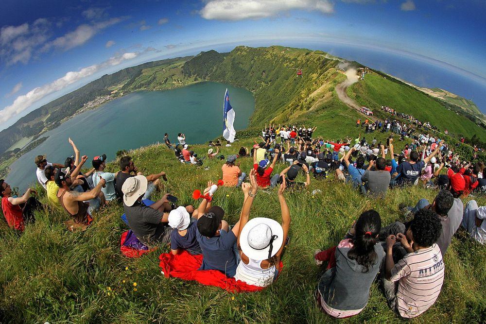 Rajd Azorów - Sete Cidades na żywo