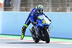 Test MotoGP Barcellona: alle 13 comanda Mir, assente Aleix