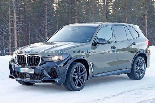 Az iX-hez hasonló belteret kaphat a frissített BMW X5 M