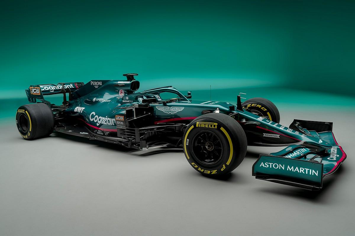 Rebranded Aston Martin unveils 2021 F1 car