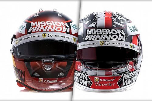 Photos - Nouveaux casques pour Charles Leclerc et Carlos Sainz
