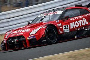 【スーパーGT】富士公式テスト2日目、最後の最後で逆転した23号車ニスモが最速
