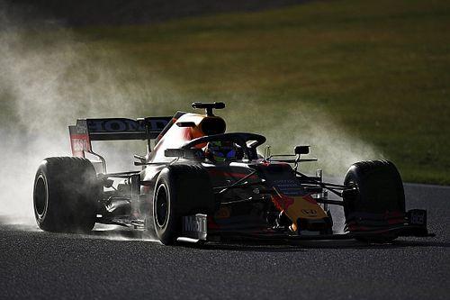 Perez, Red Bull RB15 ile Silverstone'da piste çıktı