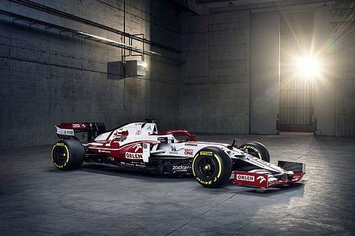 Alfa Romeo stelt auto voor Formule 1-seizoen 2021 voor
