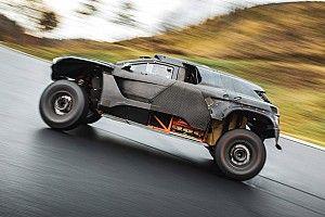 Mobil Bertenaga Hidrogen Turun di Reli Dakar 2024