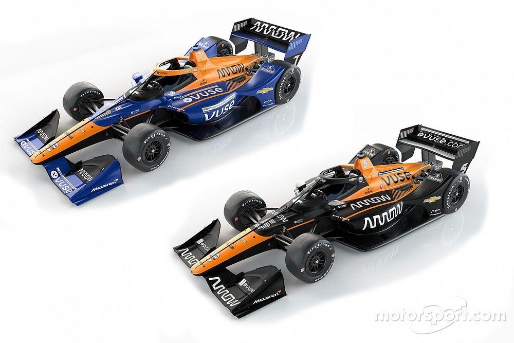 Arrow McLaren SP przedstawił barwy
