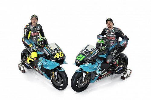 Petronas muestra por primera vez la Yamaha de Rossi y Morbidelli