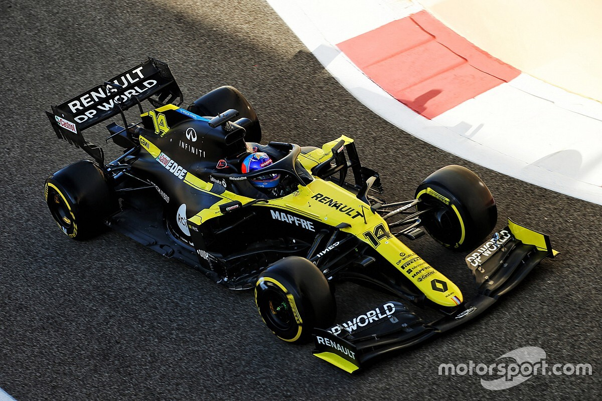 Alonso liderem testów