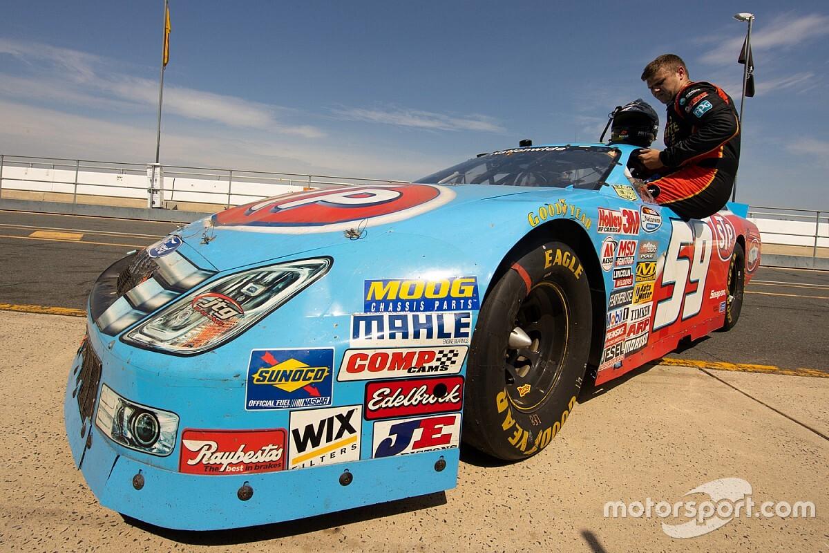Supercars driver samples Ambrose NASCAR winner