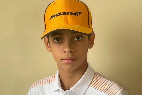 McLaren anuncia contratação de revelação do kart de apenas 13 anos