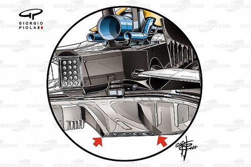 Análise técnica: quem irá copiar na F1 a solução de difusor da McLaren?