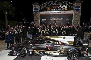 12h di Sebring: trionfo a sorpresa per la Cadillac-JDC/Miller
