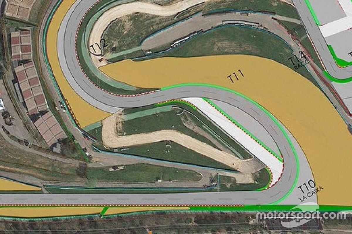 FIA одобрила новую конфигурацию 10-го поворота в Барселоне