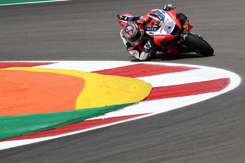 マルティン、前戦表彰台から一転3秒遅れの最後尾で初日終える「バイクが安定せず危険な状態だった」