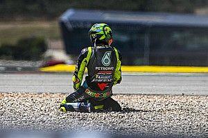Bradl Prediksi Rossi Gantung Helm Akhir 2021