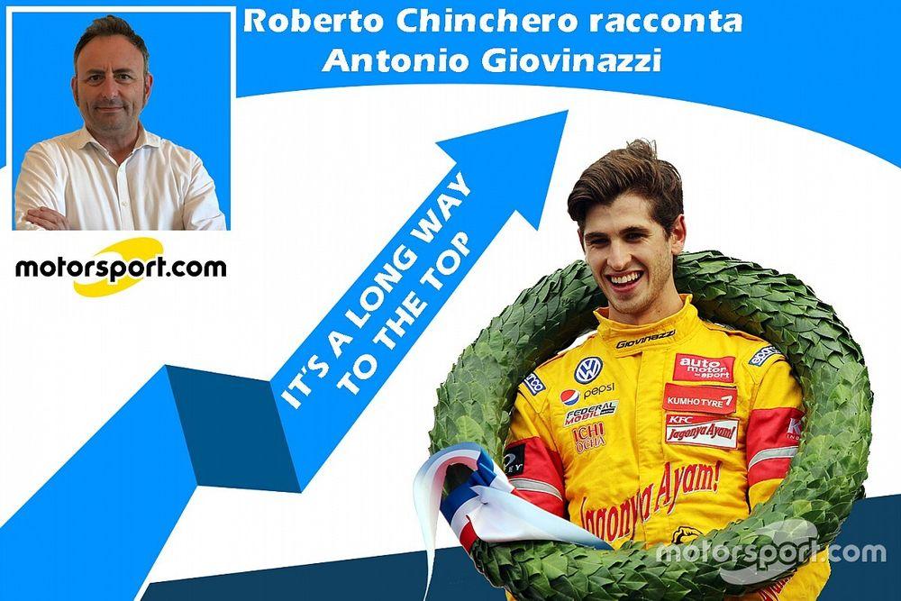 It's a long way to the top - Chinchero racconta Giovinazzi