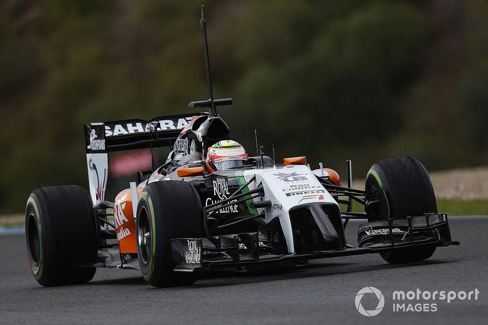 Pérez ne pensait pas faire long feu chez Force India