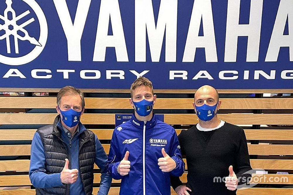 Quartararo visita la sede Yamaha, è la prima uscita ufficiale