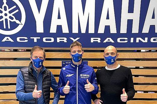 Kunjungan Pertama Quartararo ke Markas Yamaha