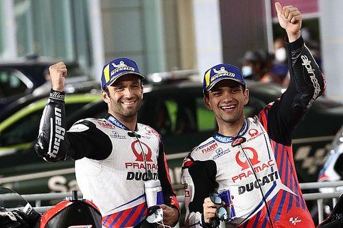 Startopstelling voor de MotoGP Grand Prix van Doha
