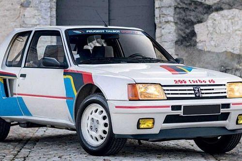 ¿Cuánto se ha pagado en una subasta por este Peugeot 205 T16?